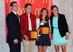 McDonalds McScholar ATHLETE 2014