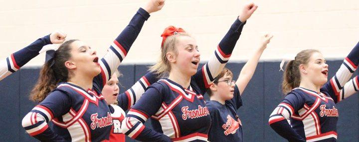 Cheerleading at Frontier